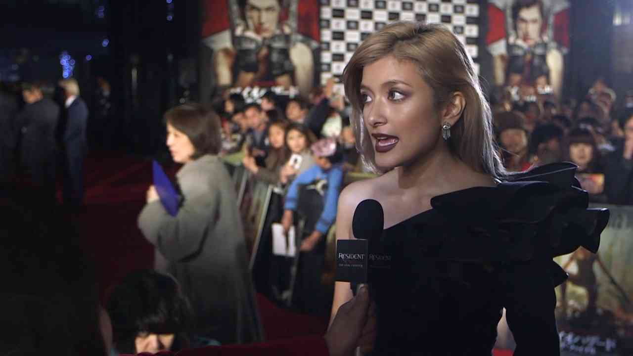 Resident Evil: The Final Chapter Tokyo Premiere Highlight SB Rola - YouTube
