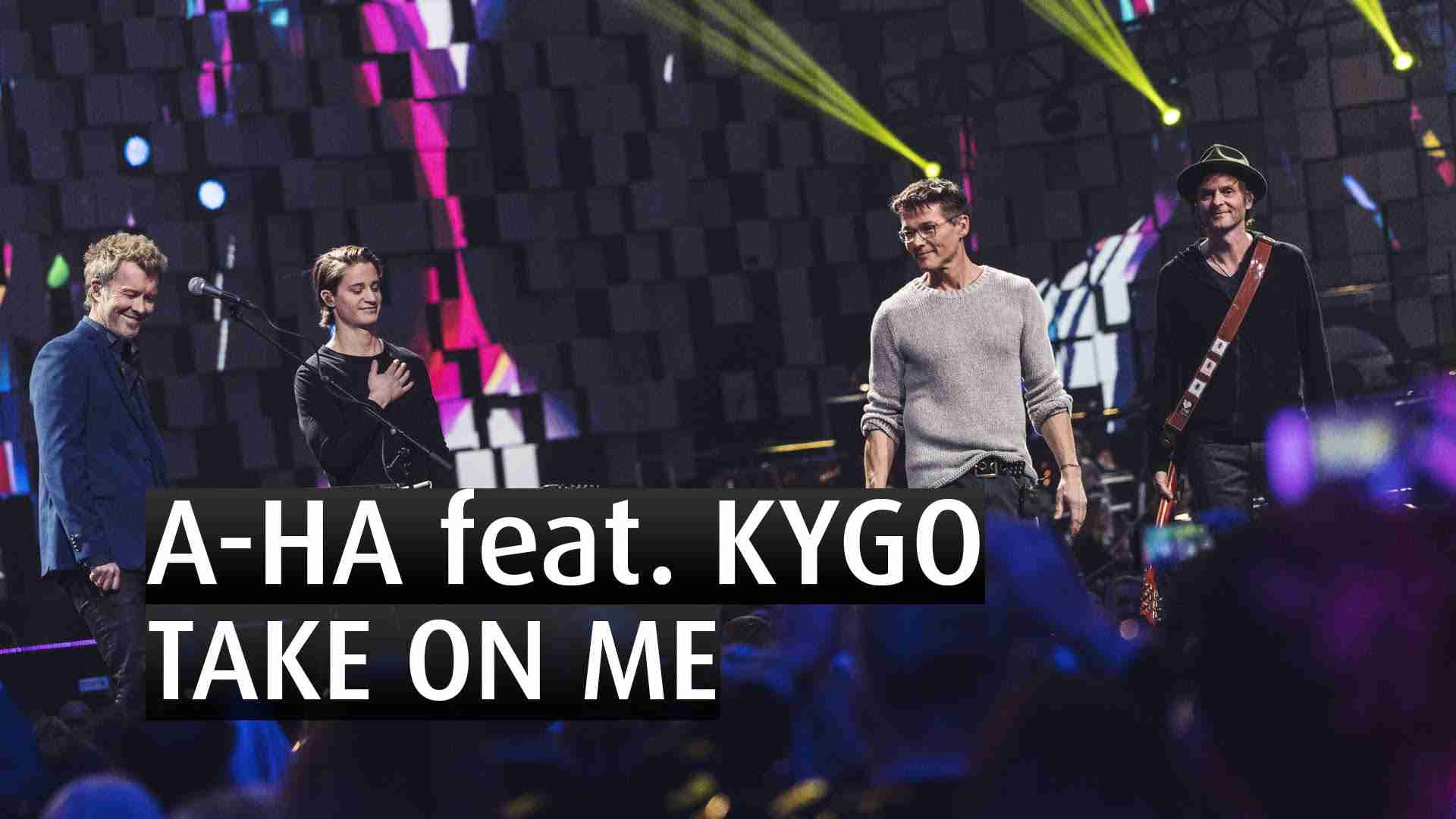 A-HA feat KYGO - TAKE ON ME - EXCLUSIVE - The 2015 Nobel Peace Prize Concert - YouTube