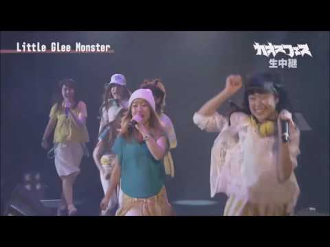 little glee monster カオスフェスhappy gate 720 - YouTube