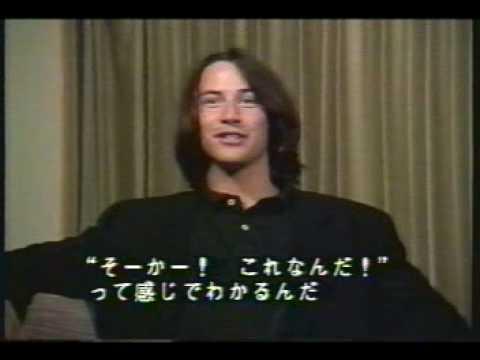 Keanu Reeves & Patrick Swayze interview for Point Break in Japan - 1991 - YouTube