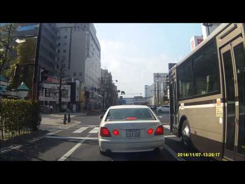 【岡山の日常】車線変更時に絶対ウインカーを出さないアリスト - YouTube