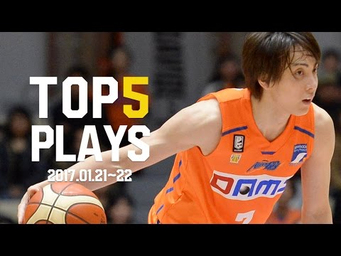 B.LEAGUE B1第17節|BEST of TOUGH SHOT Weekly TOP5 presented by G-SHOCK プロバスケ(Bリーグ) - YouTube