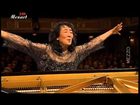 Mozart: Concerto for piano and Orchestra (d-minor) K.466, Uchida - YouTube