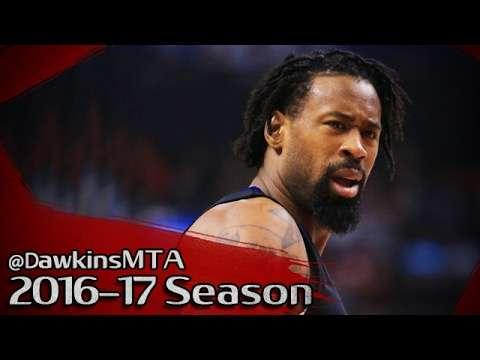 DeAndre Jordan Full Highlights 2017.02.08