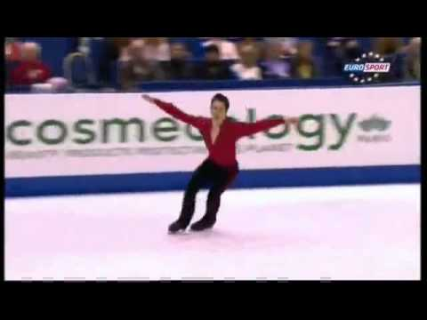2012 Worlds Men FS Patrick Chan british commentary - YouTube