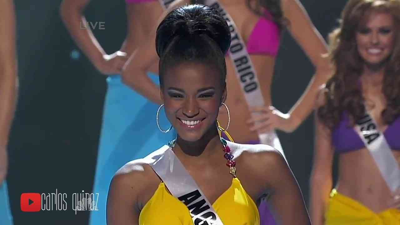 Miss Universe 2011 - Leila Lopes - Full Performance - YouTube