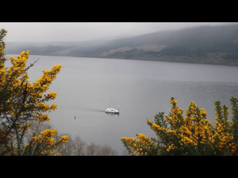 Loch Ness Monster Sighting 7th May 2017 About 9am - YouTube