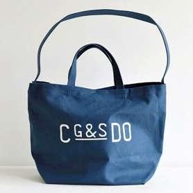 G&S DO キャンバストートバッグ ブルー - CLASKA ONLINE SHOP