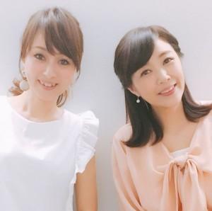 菊池桃子&渡辺美奈代 80年代アイドルショットに「二人とも変わらない!」
