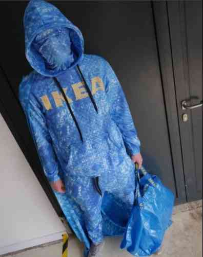IKEAの青いバッグ「FRAKTA」風のトレーナーがヴィレヴァンに登場 - BIGLOBEニュース