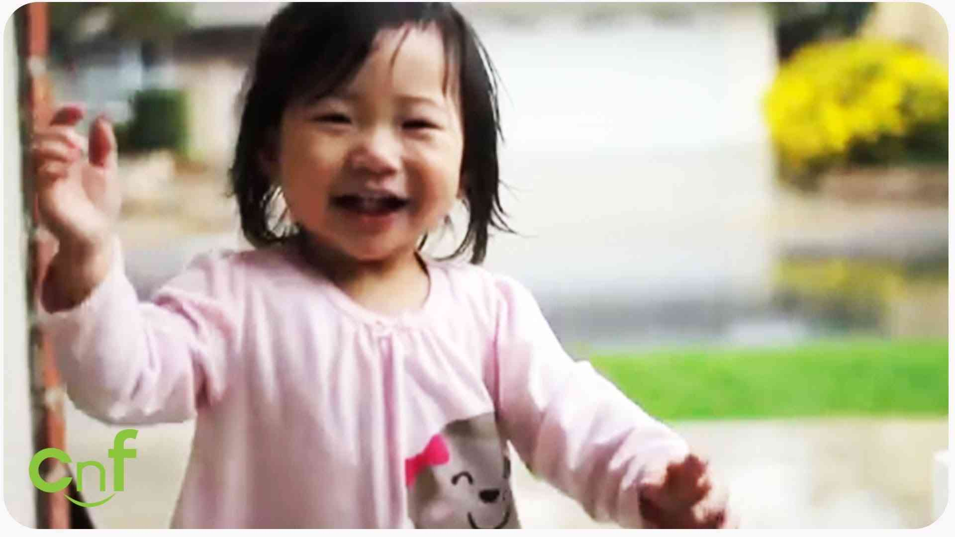 Kayden + Rain | Little Girl Experiences Her First Rainfall - YouTube