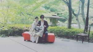 安田美沙子、着物姿で奮闘 お宮参りの記念写真で長男に「かわいく写って欲しくて」