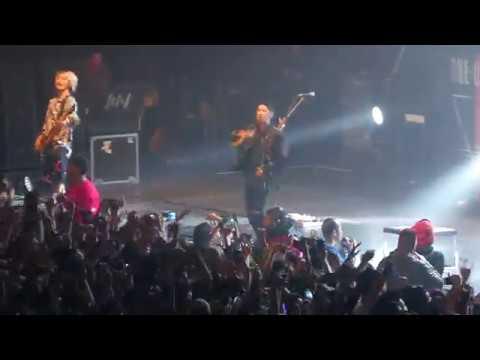 ONE OK ROCK / Live  Los Angeles / Part 1 / 01-21-2017 / at Palladium / 4K / - YouTube