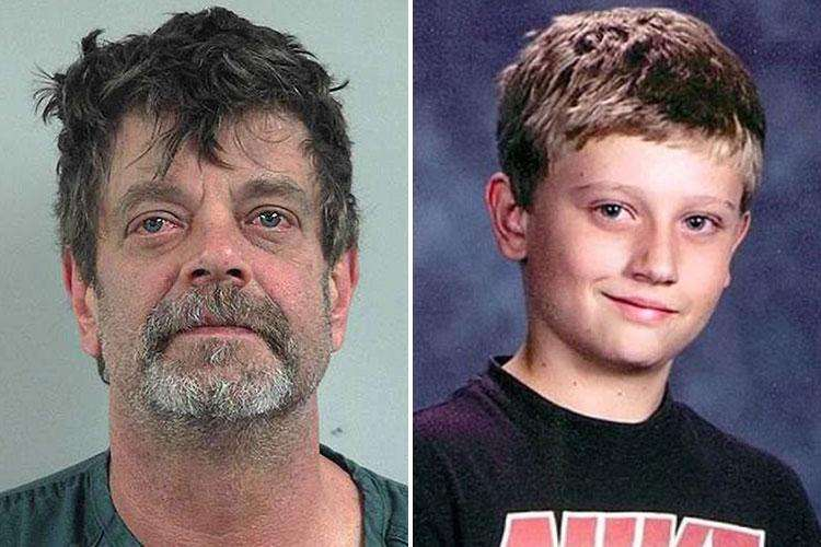 Dad 'killed his son after 13-year-old found disturbing photos of him eating POO while dressed in women's clothes and a nappy'