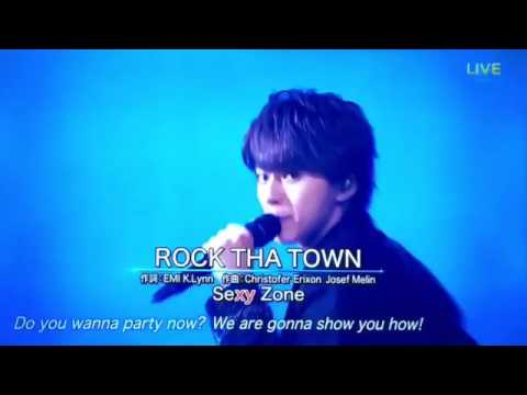 Sexy Zone / ROCK THA TOWN [2017.7.1 THE MUSIC DAY] - YouTube