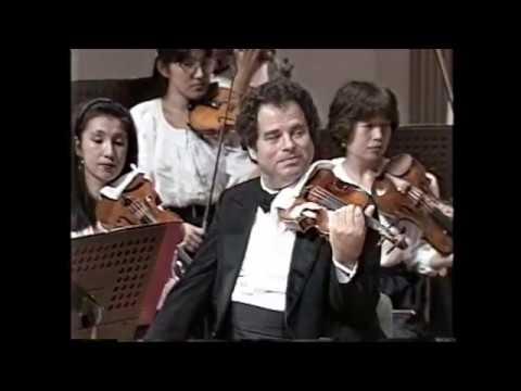 Mozart Violin Concerto No 3 in G major, K 216 Itzhak Perlman  Kazuyoshi Akiyama/Tokyo S.O. - YouTube