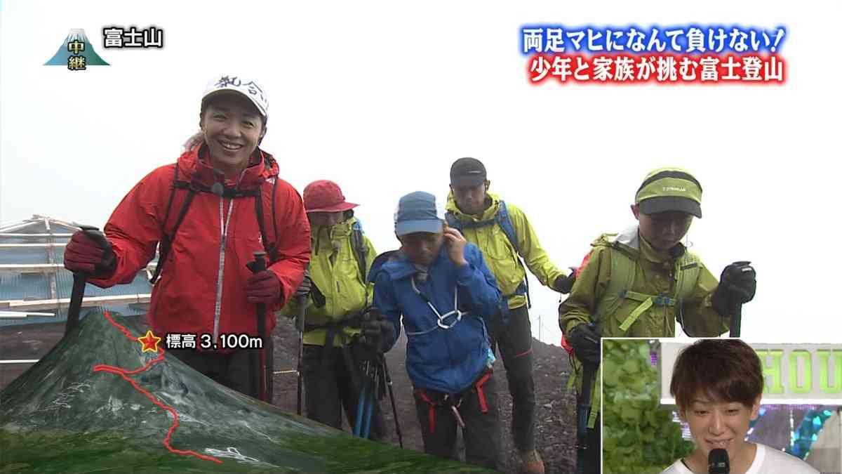 24時間テレビ、両足マヒの子どもが富士山登頂 → 途中で怒鳴られてブン殴られる映像が流れる 視聴者ドン引き