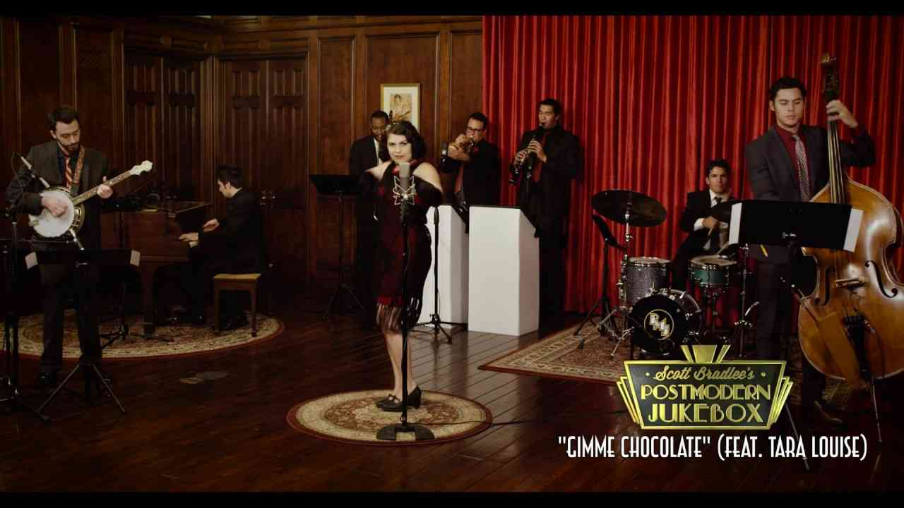 Gimme Chocolate - Babymetal (1920s Jazz Cover) ft. Tara Louise - YouTube