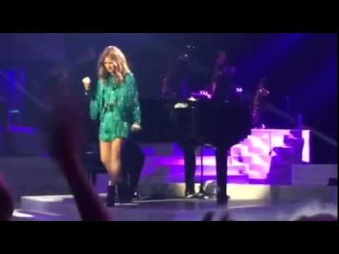 Celine Dion Live Big Note All By Myself Vegas Revamped Show 2015 - YouTube
