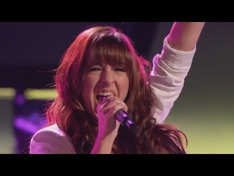 Christina Grimmie sings 'Wrecking Ball' The Voice Highlight Blind Auditions - YouTube