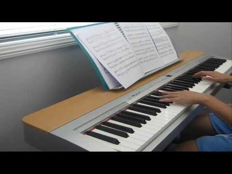 Chrono Trigger - Frog's theme on piano (zohar arrangement) - YouTube