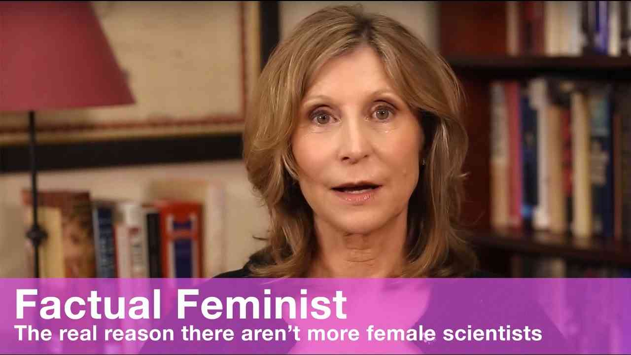 The real reason there aren't more female scientists   FACTUAL FEMINIST - YouTube