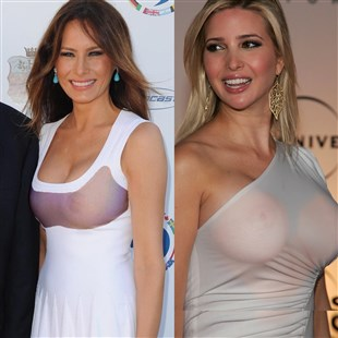 Melania Trump And Ivanka Trump Attempt To Raise Polls With Their Boobs