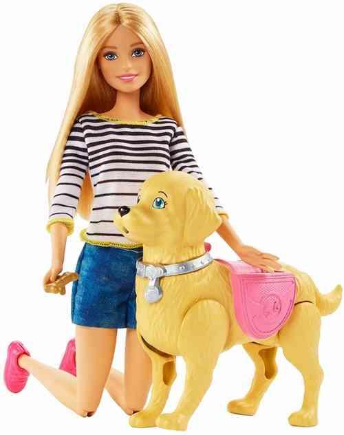 着せ替え人形「バービー」の犬、排泄機能までついて好評