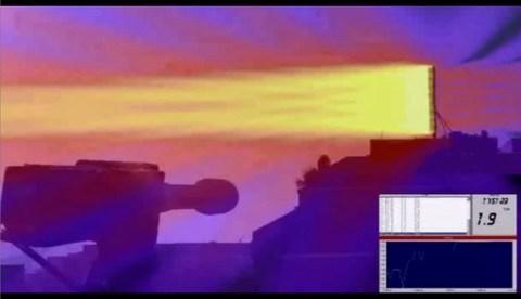 YouTube 携帯基地局の電磁波ビームが見える! 可視化に成功!フランス   - ザウルスでござる