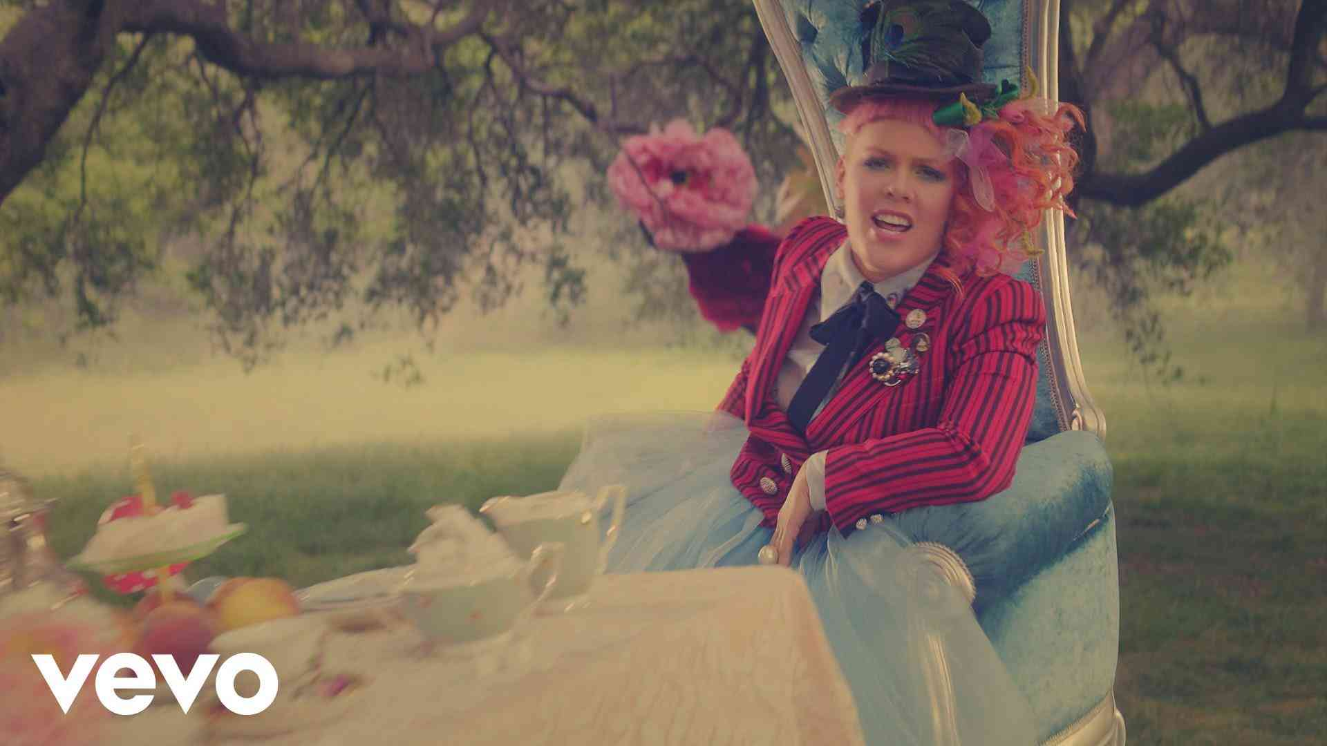 """P!nk - Just Like Fire (From the Original Motion Picture """"Alice Through The Looking Glass"""") - YouTube"""