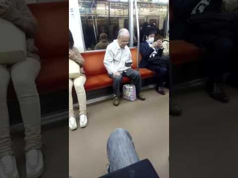 【パリピ】電車に突如現れたパリピおじいちゃんが可愛すぎるwwww - YouTube