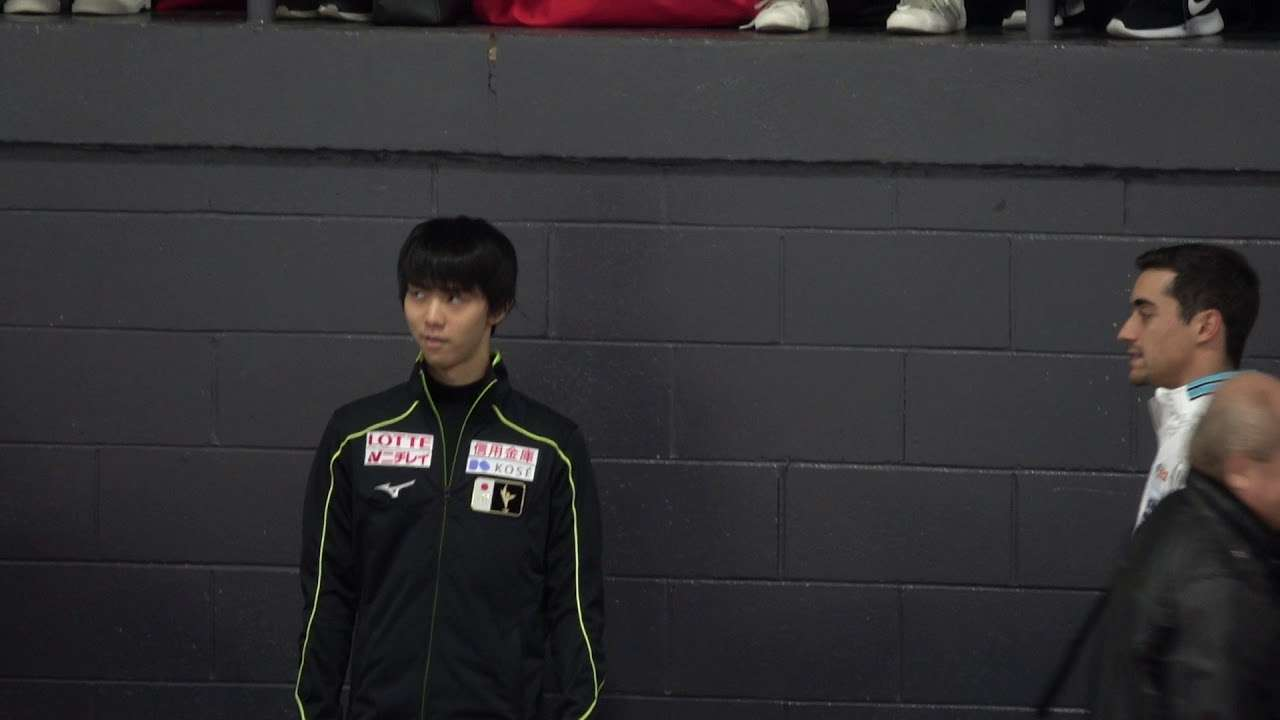 2017 SCAC Yuzuru Hanyu Rinkside 0923  (before OP) - YouTube