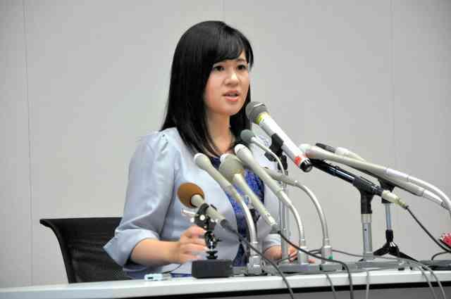 不出馬の理由は…「負けるから」 上西小百合氏が会見 (朝日新聞デジタル) - Yahoo!ニュース