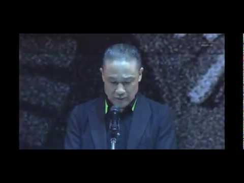 ギレンの演説【実写版】ギレン・ザビ演説 ~ガルマ国葬~ 生アフレコ - YouTube