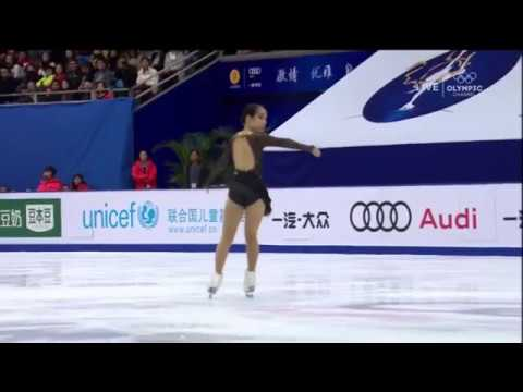 Mai Mihara - unclear lutz edge (Cup of China 2017) - YouTube