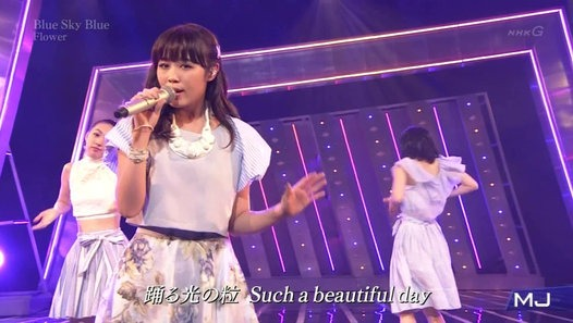 Flower 『Blue Sky Blue』 MJ by 鷲尾伶菜連合 - Dailymotion