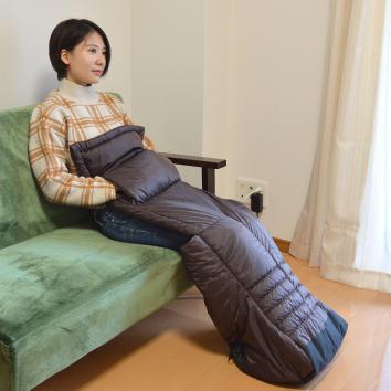 椅子に座りながらぬくぬくしたいキミへ サンコーが「お一人様用こたつ」発売