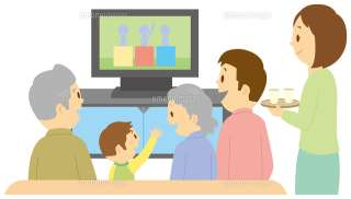家族とテレビ見て気まずくなることありますか?