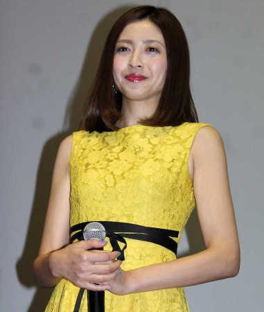 片瀬那奈が恋人募集宣言「お待ちしています」 婚活映画の主演糧に