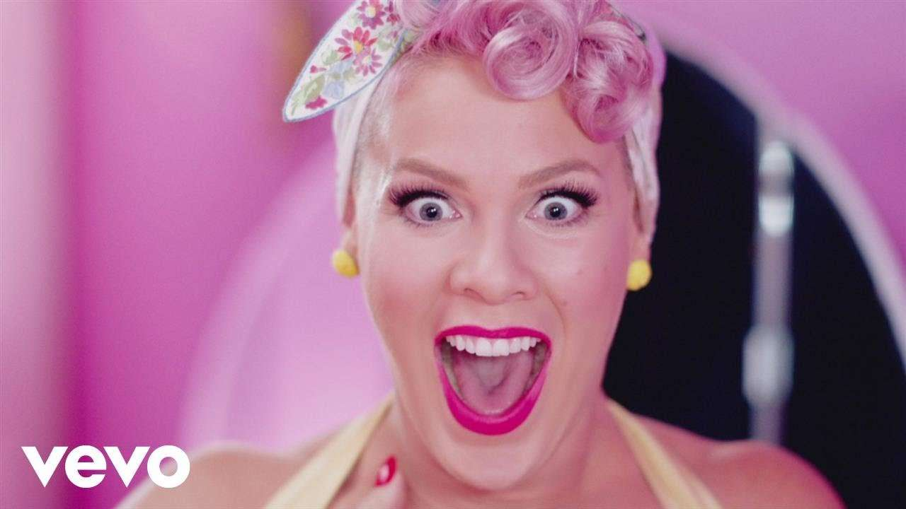 P!nk - Beautiful Trauma (Official Video) - YouTube