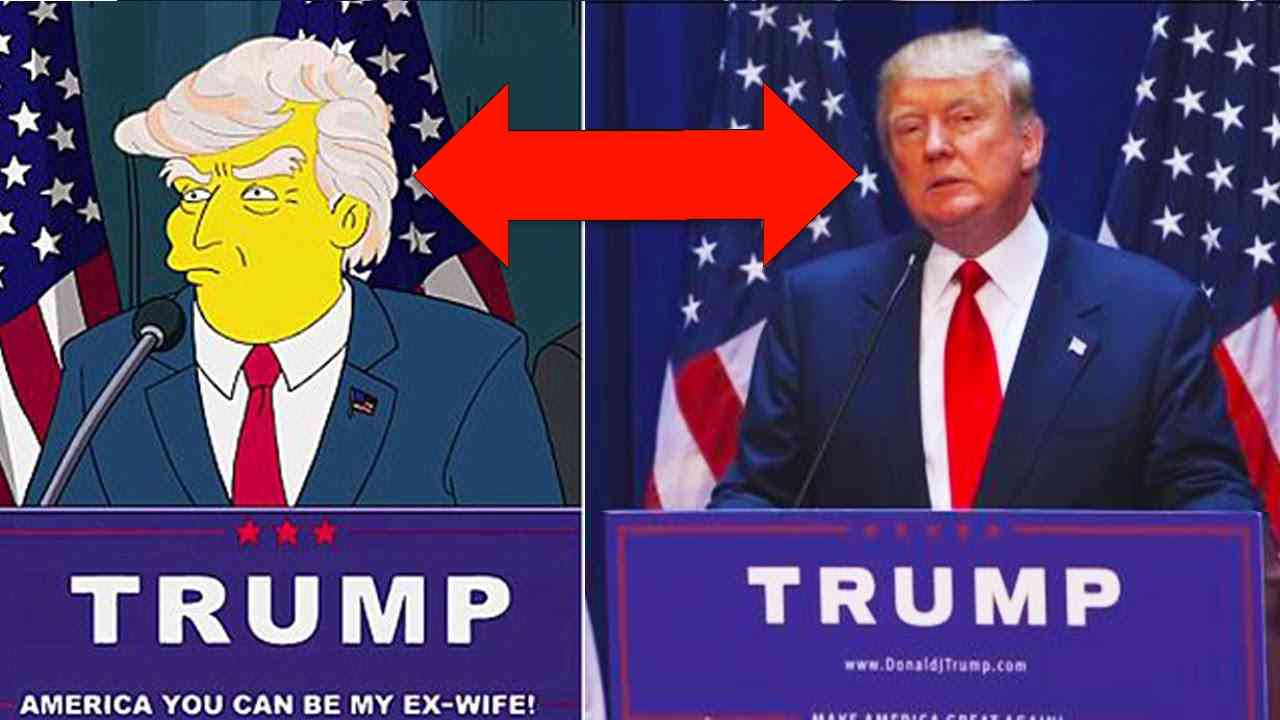 10 Times The Simpsons Predicted The Future - YouTube