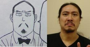 似てると思ったアニメキャラと実在の人物