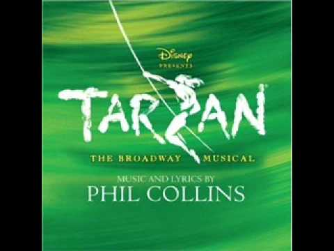 13. Tarzan on Broadway Soundtrack - For the First Time - YouTube