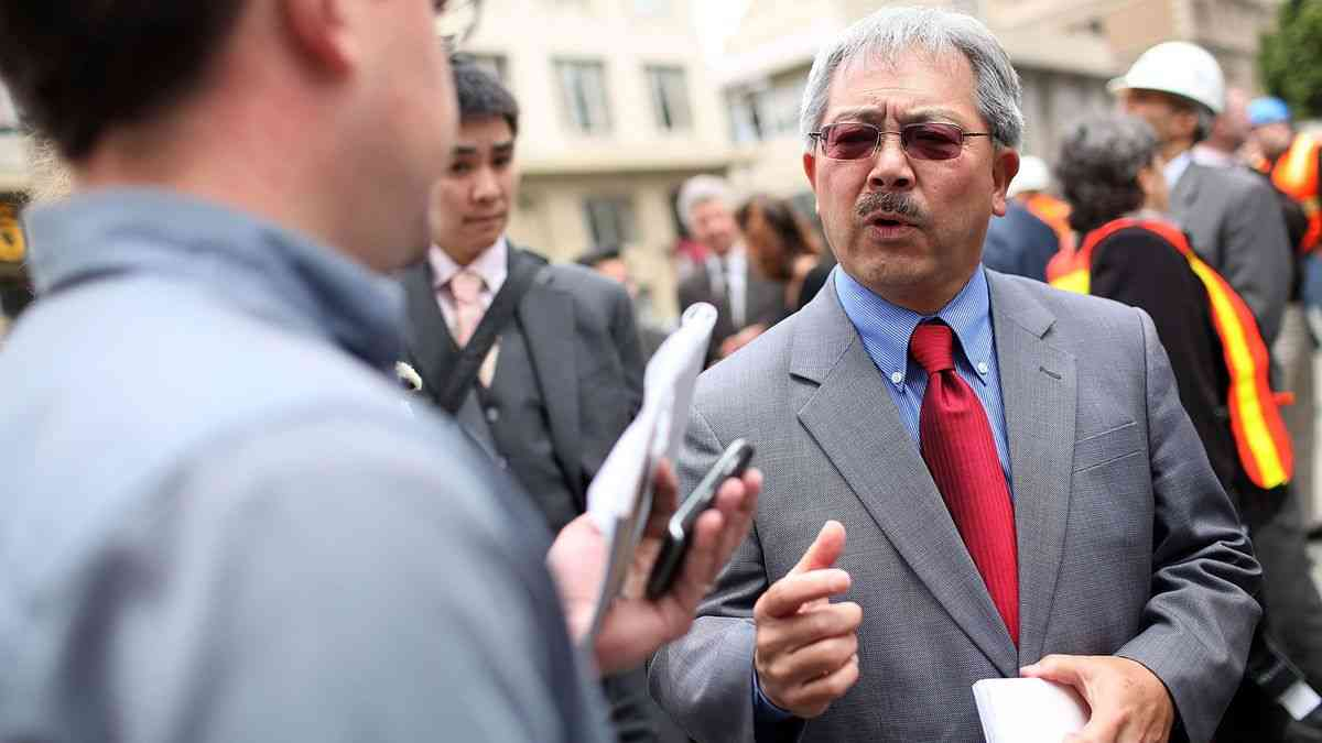 San Francisco Mayor Edwin Lee Dead at 65, Official Says - Bloomberg