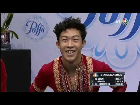 Nathan Chen Free Skate 2017 US Championships - YouTube