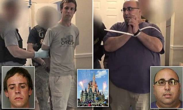 Disney workers arrested in 'To Catch A Predator'-style child sex stings | Daily Mail Online