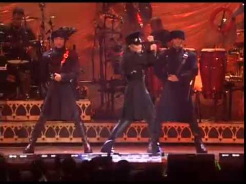 Janet Jackson - Rhythm Nation (HBO Special: The Velvet Rope - Live in Madison Square Garden) - YouTube