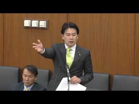 「麻生大臣、自民党の和田政宗の質問をどう思いますか?」→「レベルの低い質問で、和田政宗を軽蔑します」 - YouTube