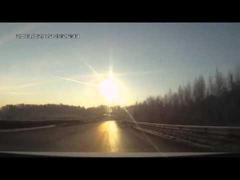 МЕТЕОРИТ ПРОЛЕТЕЛ НАД ЧЕЛЯБИНСКОМ! [1] - YouTube