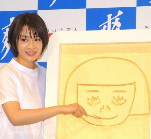広瀬すず、自分で描いた似顔絵に「100点」 | Narinari.com